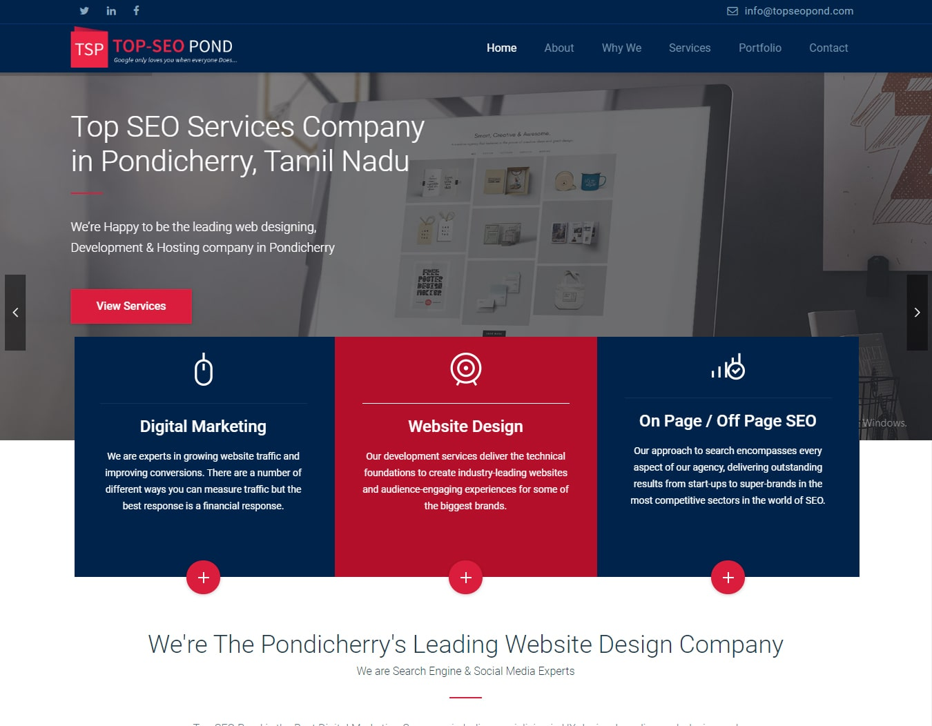 Best Professional Website Designer in India- Venkatesh Soubbarayalu | Portfolio Website